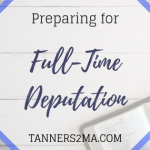 A blog image reading: Preparing for Full-Time Deputation